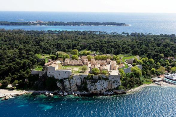 Le Fort royal de l'île Sainte-Marguerite (photo Jérôme Kelagopian - Ville de Cannes)